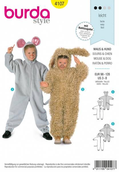 Bilde av 4107 - Burda - kostyme, dyr