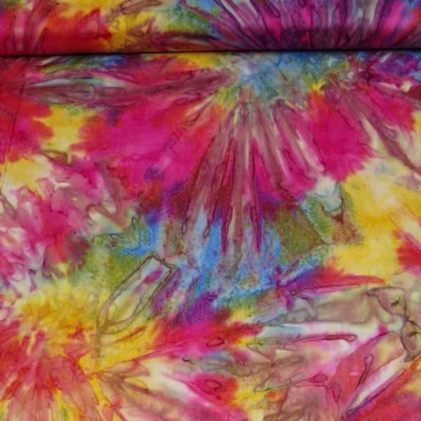 Bilde av Batikk - multifarget akvarellmønster