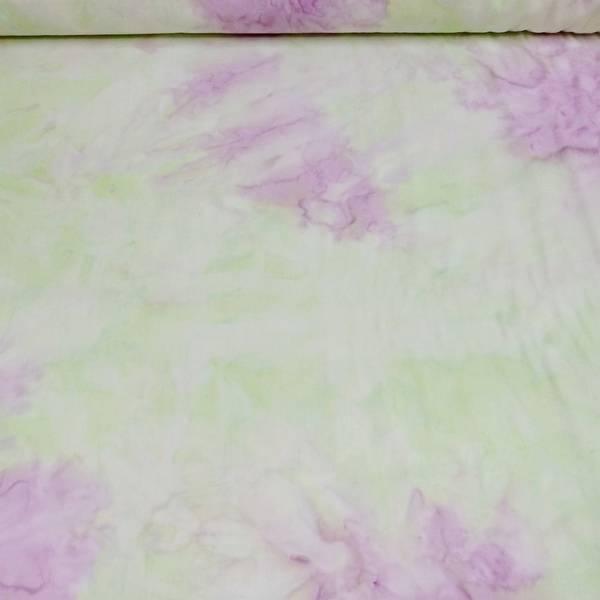 Bilde av Batikk - lys limegrønn lys lilla