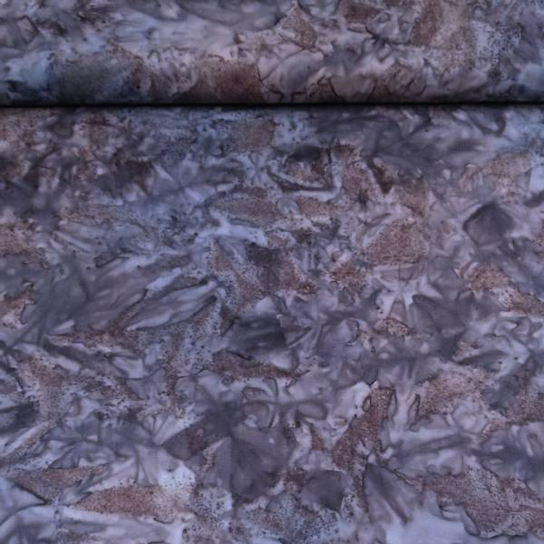 Bilde av Batikk - aubergine-blågrå mønstret