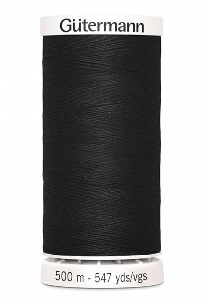 Bilde av Sytråd Gütermann 500 m polyester - 000 - sort
