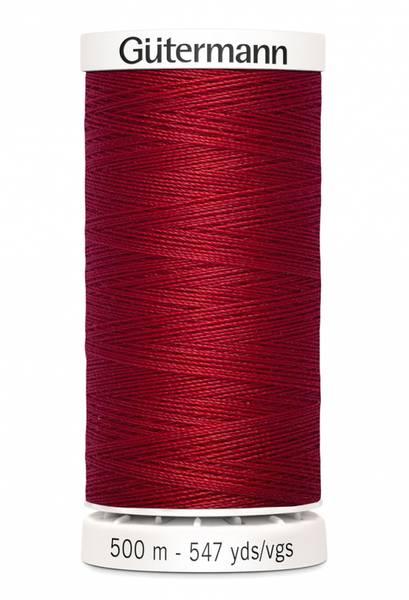 Bilde av Sytråd Gütermann 500 m polyester - 46 - dyp rød