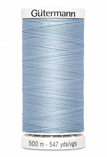 Bilde av Sytråd Gütermann 500 m polyester - 75 - babyblå