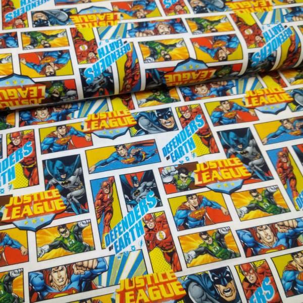 Bilde av Vevd bomull - Justice League - 3 cm tegneserie bilder