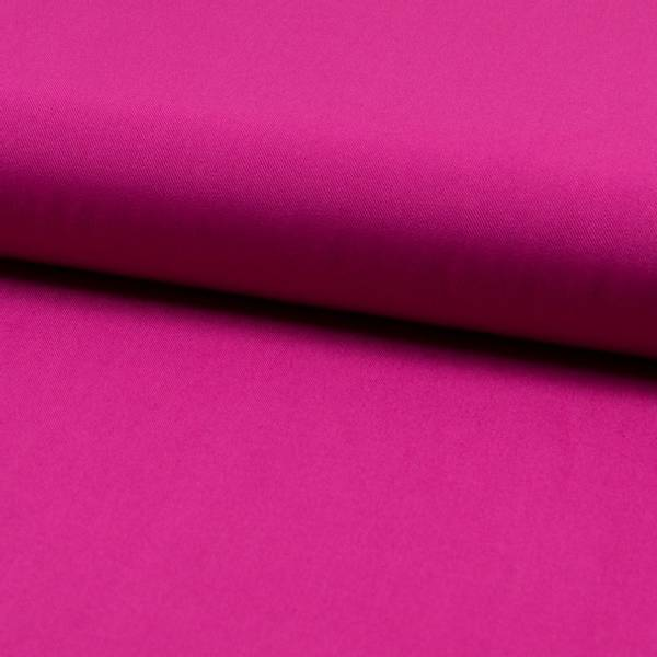 Bilde av Viskose twill ensfarget fuxia - sterk rosa