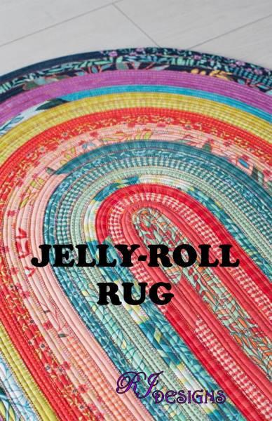Bilde av Jelly Roll Rug - ovalt teppe 75*110 cm