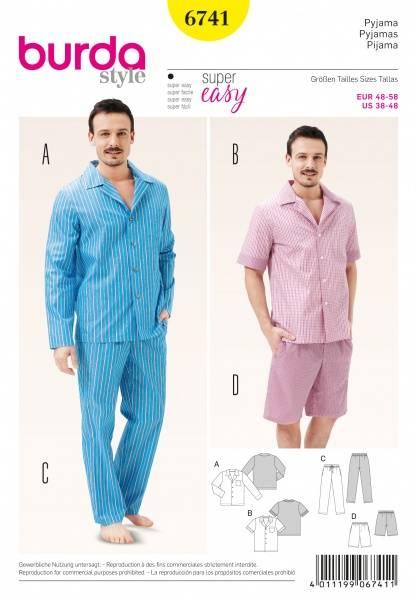 Bilde av 6741 - Burda - Pyjamas, pysj