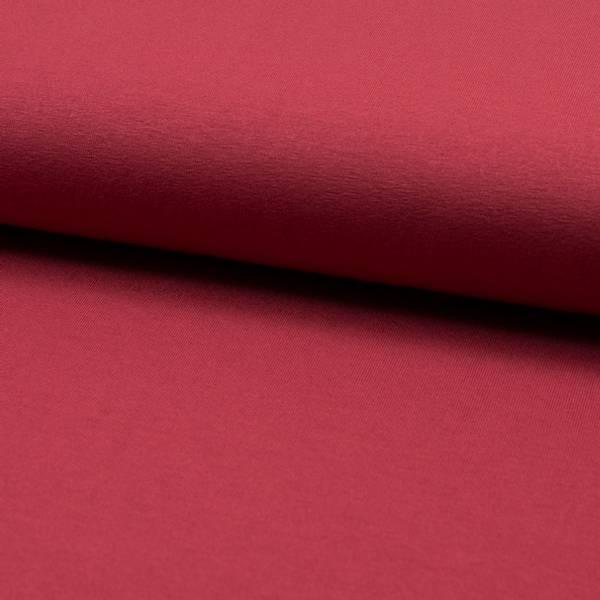 Bilde av Viskosejersey, marsala rød
