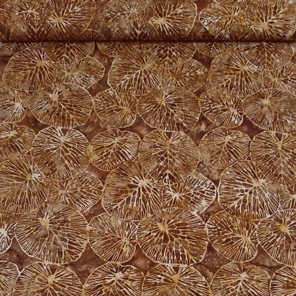 Bilde av Batikk - brun med 10 cm blader