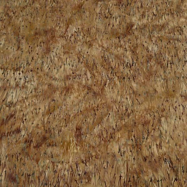 Bilde av Batikk - brun m ca 3 cm grå strekmønster
