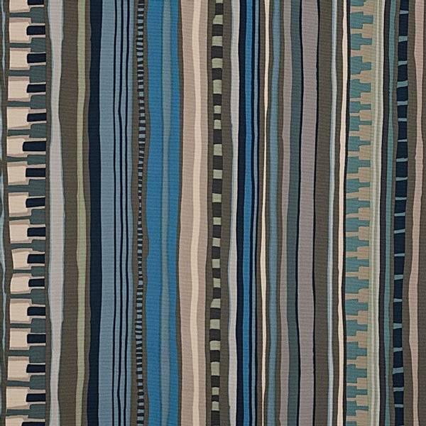 Bilde av Sonora - Heavy Oxford Kanvas - 5-40 mm striper, blå-kaki-sand