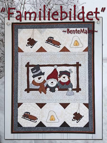 Bilde av Bente Malm 179 - Familiebildet - veggteppe