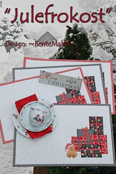 Bilde av Bente Malm 178 - Julefrokost - spisebrikker