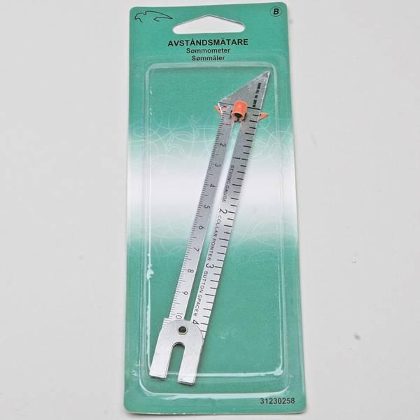 Bilde av Sømmål - aluminium, sømometer, avstandsmåler
