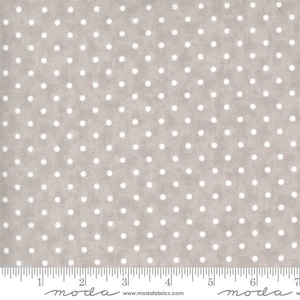 Bilde av 30 cm Sanctuary - 3 mm hvite prikker på lys varmgrå