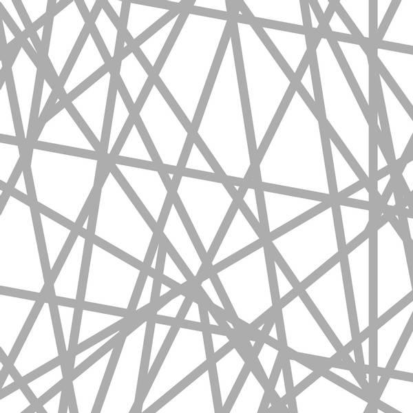 Bilde av Stripes - 5 mm grå krysstvers striper på hvit
