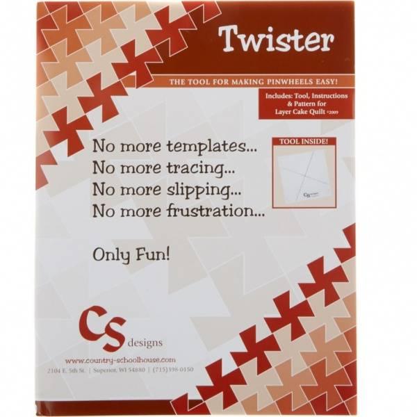 Bilde av Lil Twister - linjal til små pinwheel-blokker