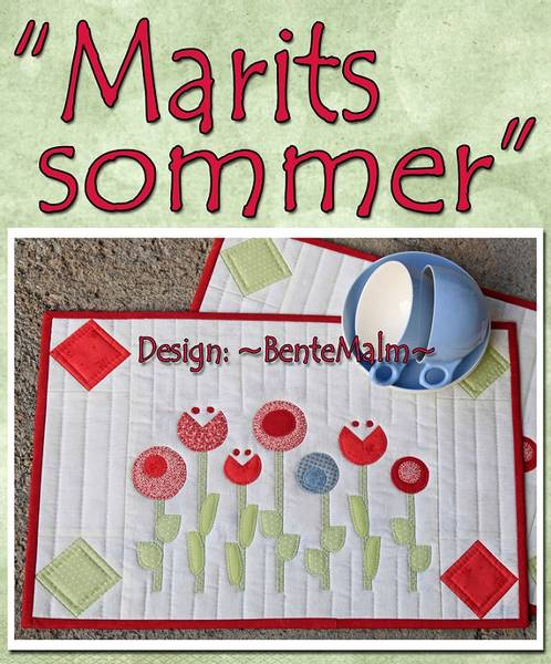 Bilde av Bente Malm 172 - Marits Sommer - brikker