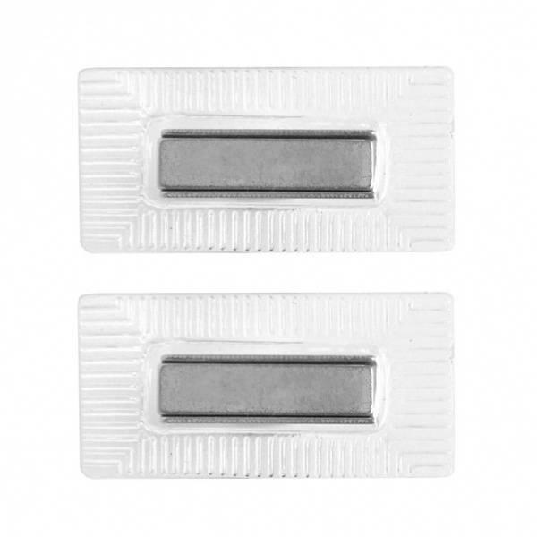 Bilde av Magnetknapp med plast til å sy i - rektangel 28*8 mm