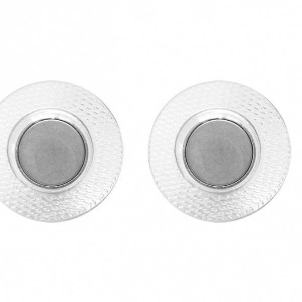 Bilde av Magnetknapp med plast til å sy i - rund 13 mm