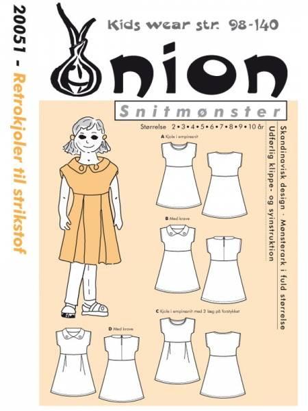 Bilde av Onion 20051 - retrokjole til stretchstoff