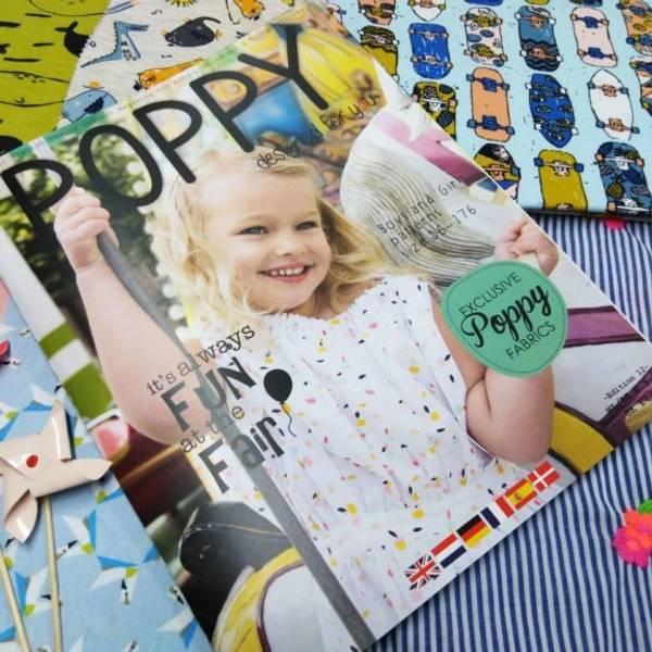 Bilde av   Poppy - mønsterblad - nr. 12