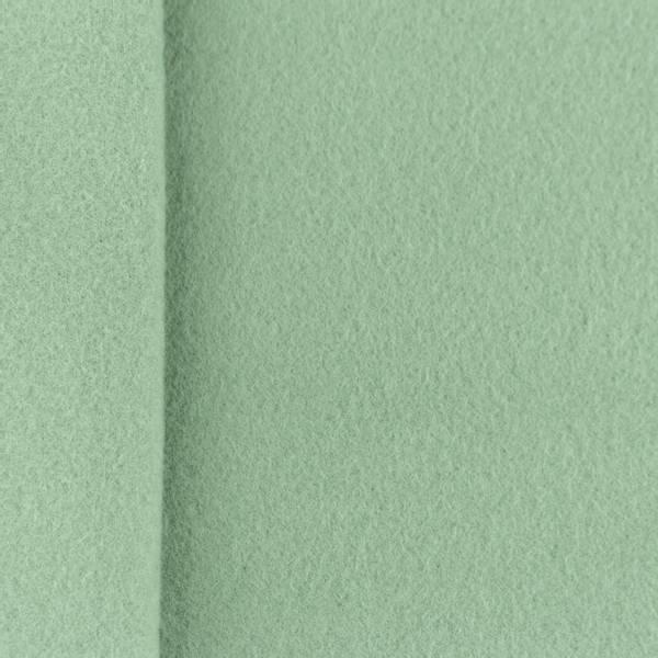 Bilde av Bomullsfleece, 100% - dusgrønn