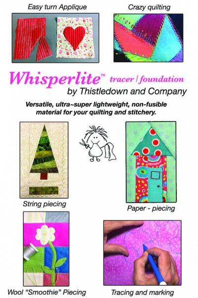 Bilde av Whisperlite - applique overlay tracer - pakke med 90*90 cm