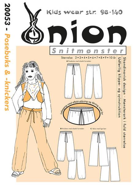 Bilde av Onion 20053 - posebukse, bukse med vidde, nickers
