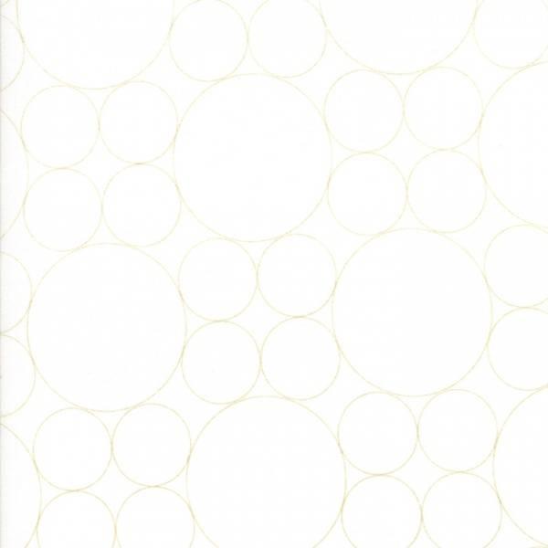 Bilde av 60 cm Thrive - 2,5 & 5 cm vårgrønne sirkler på offwhite