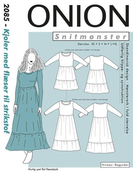 Bilde av Onion 2085 - kjole med rysjer til stretch