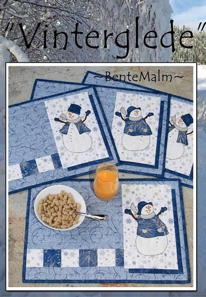 Bilde av Bente Malm 155 - Vinterglede - spisebrikke