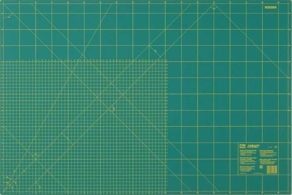 Bilde av OLFA Skjærematte - kuttematte 60x90 cm, grønn , ny