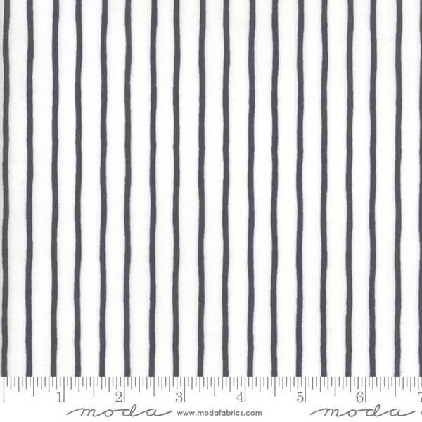Bilde av Lollipop Garden -  2 mm sorte, 8 mm hvite striper
