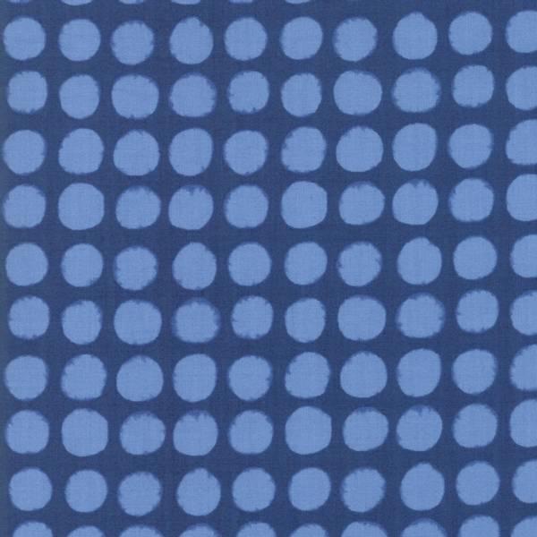 Bilde av Breeze - 15 mm blå prikker på blå