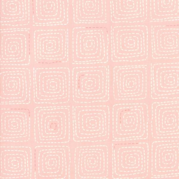 Bilde av Breeze - 3,5 cm hvit kvadratmønster på rosa