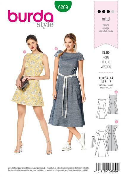 Bilde av 6209 - Burda - kjole