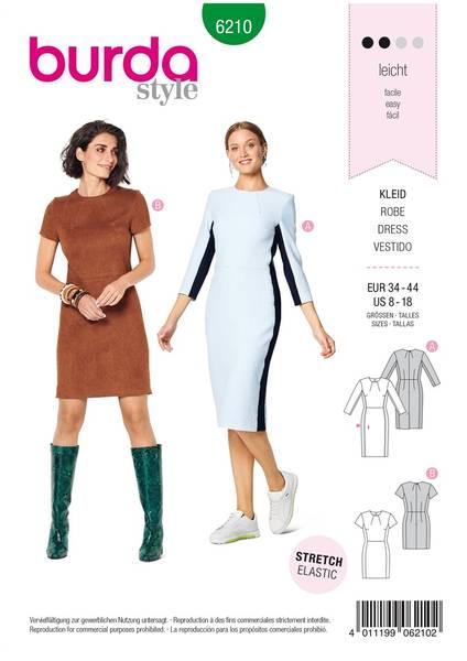 Bilde av 6210 - Burda - smal kjole