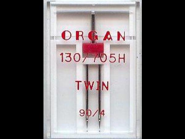 Bilde av Organ symaskinnål - Tvilling  4 mm, str. 90