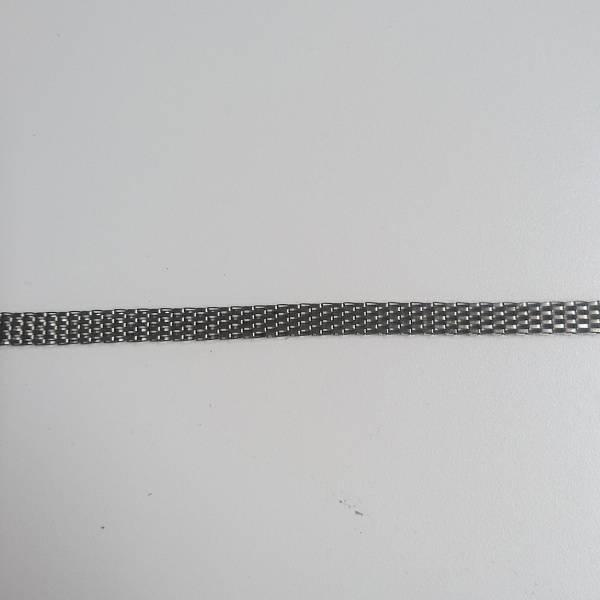 Bilde av 2 m Metallbånd, tung, mørk sølv, gammelsølv, 1 cm bred