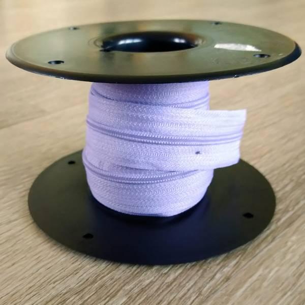 Bilde av Spiralglidelås - 4 mm metervare - lyslilla