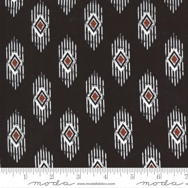 Bilde av Smoke & Rust - mørkbrun, 2*5 cm mønster