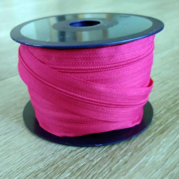 Bilde av Spiralglidelås - 4 mm metervare - pink