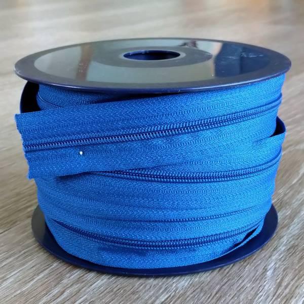 Bilde av Spiralglidelås - 4 mm metervare - koboltblå