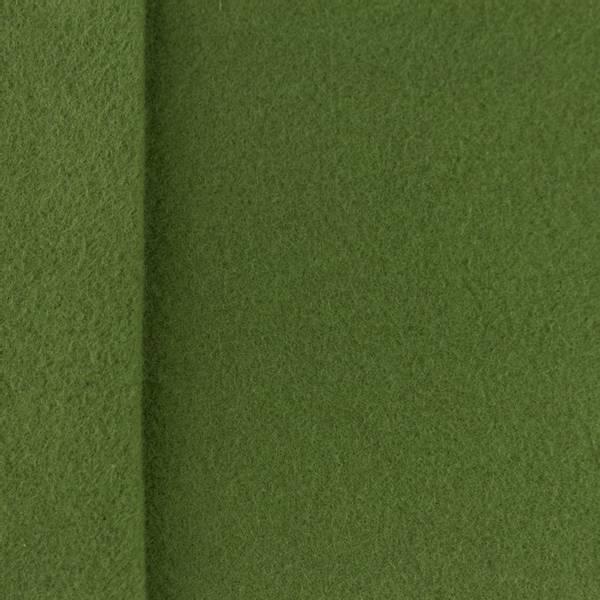 Bilde av Bomullsfleece, 100% - armygrønn