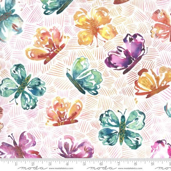 Bilde av Sunshine Soul - 6 cm flerfargete sommerfugl