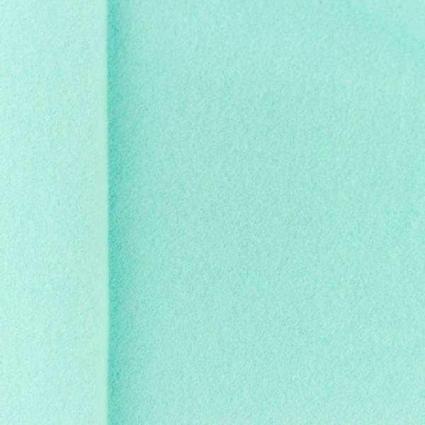 Bilde av Bomullsfleece, 100% - mintgrønn