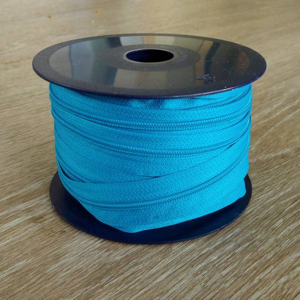 Bilde av Spiralglidelås - 4 mm metervare - turkis