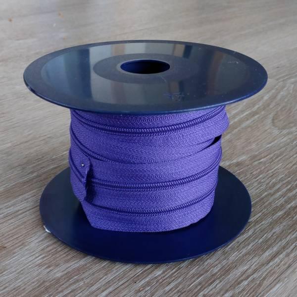 Bilde av Spiralglidelås - 4 mm metervare - lilla