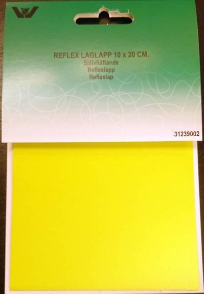 Bilde av Reparaturlapper - selvklebende - refleks neongul, 10x20 cm
